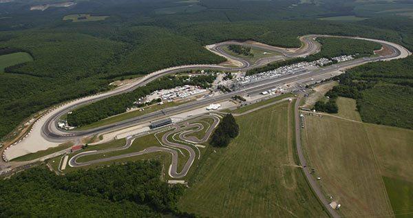 Race Shift Circuit Dijon Prenois GP France 3D Track Art