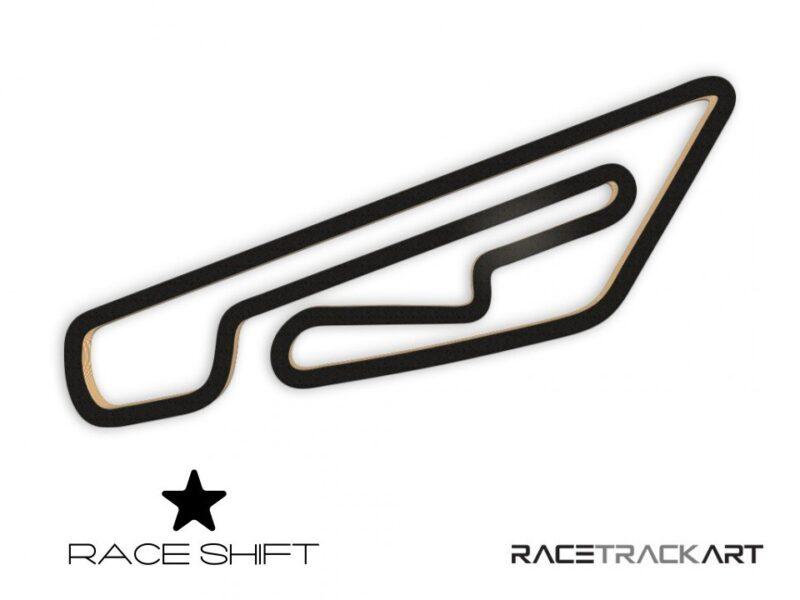 Race Shift Circuit Jules Tacheny Mettet Belgium 3D Track Art