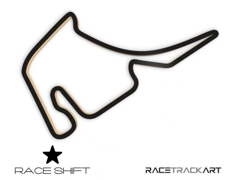 Race Shift Circuit Hockenheimring 3D Track Art